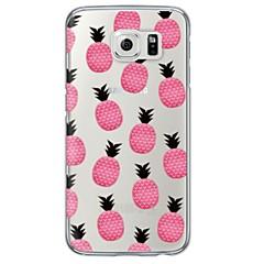 Για Samsung Galaxy S7 Edge Διαφανής / Με σχέδια tok Πίσω Κάλυμμα tok Φρούτα Μαλακή TPU SamsungS7 edge / S7 / S6 edge plus / S6 edge / S6