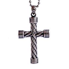 Jesus-Kreuz Titan Halskette Persönlichkeit