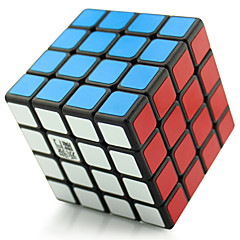 Yongjun® Cube de vitesse lisse 4*4*4 Fluorescent / Niveau professionnel Cubes magiques Noir / Blanc / Rose Plastique