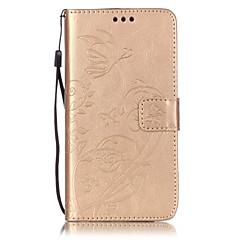 Για Θήκη Motorola Πορτοφόλι / Θήκη καρτών / με βάση στήριξης / Ανοιγόμενη / Ανάγλυφη tok Πλήρης κάλυψη tok Λουλούδι Σκληρή Συνθετικό δέρμα