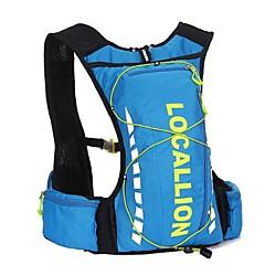 자전거 배낭 배낭 용 레저 스포츠 여행 달리기 스포츠 백 반사 스트립 착용 가능한 다기능 물 방광을 포함 러닝백 - Iphone 6/IPhone 6S/IPhone 7 10L