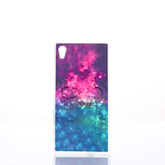 For Sony etui / Xperia Z5 Stødsikker / Støvsikker / IMD Etui Bagcover Etui Camouflage Blødt TPU for Sony Sony Xperia Z5