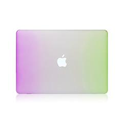 Omsluttende etuier PVC Tilfælde dække for 11.6 tommer (ca. 29cm) 13.3 '' 38cmMacBook Air 13-tommer MacBook Pro 13-tommer MacBook Air