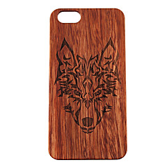 iPhone 7 Plus Wooden Case Timberwolves Forest Wolf Totem Hard Back Cover for iPhone 6s 6 Plus SE 5s 5