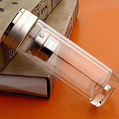 cadeaux d'affaires haut borosilicate tasse en verre avec la maison de la crépine bouteille portable