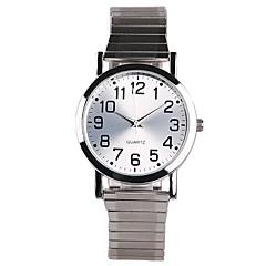 Dames Modieus horloge Kwarts Waterbestendig Roestvrij staal Band Bedeltjes Zilver Zilver