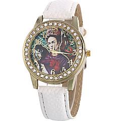 Women's Fashion Watch Wrist watch / Quartz PU Band Cool Casual Black White Brown Green Rose