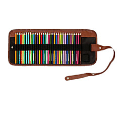 Organize Pen Curtain 36 Curtain Canvas Pen Can Be Inserted Leather Pencil Sketch Color Color Pencil Lead Volume