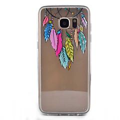 Varten Samsung Galaxy S7 Edge Läpinäkyvä / Kuvio Etui Takakuori Etui Unisieppari Kova Akryyli Samsung S7 edge / S7 / S6 edge / S6 / S5