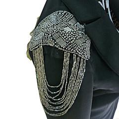 damemode punk stil perle kvaster broche / skulder board / epaulet broche party smykker