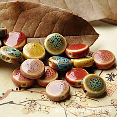 DIY Jewelry Ceramic Charm for Bracelet