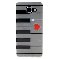 Mert Motorola tok Foszforeszkáló Case Hátlap Case Vonalak / hullámok Puha TPU Motorola Moto G4 Play / MOTO G4
