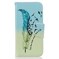 Πλήρης Σώμα πορτοφόλι / Βάση Καρτών / με Stand Φτερά Συνθετικό δέρμα Σκληρό Case Cover για το Apple iPhone 7 / iPhone 7 Plus