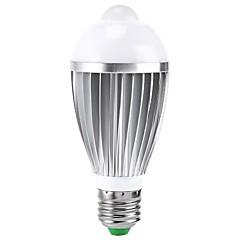 E27 B22 85V-265V 400-550Lm 7W Body Sensor LED Bulb