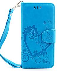 Voor iPhone 7 hoesje / iPhone 6 hoesje Portemonnee / Kaarthouder / Flip / Reliëfopdruk / Patroon / Magnetisch hoesje Volledige behuizing