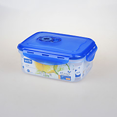 YOOYEE Brand Clear Rectangular Vacuum Plastic Food Container with Sealed Lid
