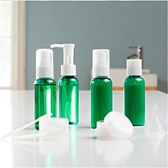 Cosmeticaflessen Plastic 9 Others 12.1*3.2cm Set Bruin / Grijs / Oranjegeel