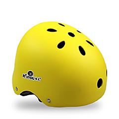 Casco-Ciclismo / Skateboard-Unisex-Sport- diEPS / ABS 11 Prese d'aria Giallo / Bianco / Rosa / Nero / Arancione
