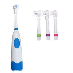 Adult Double Power Electric Toothbrush 360 Degree Waterproof Automatic Toothbrush With 3 Heads