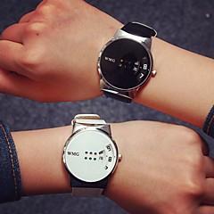 Women's Fashion Colorful Digital PU Leather Quartz Wrist Watch