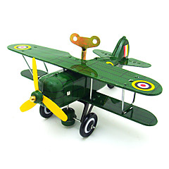 The Air Wind-up Toy Leisure HobbyMetal Green / Yellow For Kids