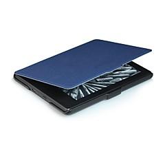 6 inch Slimer patroon pu lederen tas met slaap voor nieuwe Kindle (Kindle 558) (verschillende kleuren)