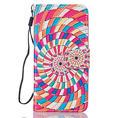 Color Flower Pattern PU Leather Full Body Case with Stand for iPhone7 6sPlus 6Plus 6S 6