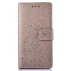 Voor Huawei hoesje / P9 / P9 Lite / P8 / P8 Lite / Mate 8 Kaarthouder / met standaard / Reliëfopdruk / Patroon hoesje Volledige behuizing