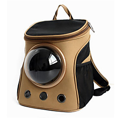 Gatto / Cane Trasportini e cucce da viaggio / Astronauta Capsula Carrier Animali domestici Supporto Portatile / Traspirante KakiTessuto /