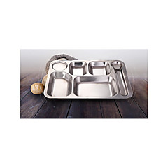 Stainless Steel Canteen Snack Plate Plate