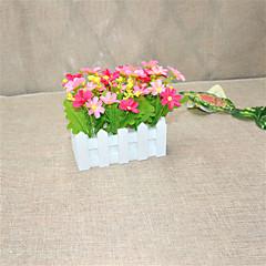 Set of 1 PCS 1 haara Polyesteri Päivänkakkarat Pöytäkukka Keinotekoinen Flowers 2.7