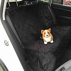Hond Hoes Voor Autostoel Huisdieren Matten & Pads Effen waterdicht Vouwbaar Zwart Bruin