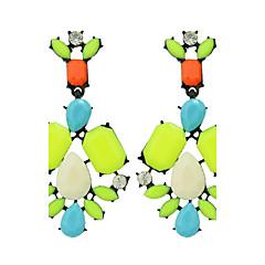 Dames Druppel oorbellen Modieus Bohemia Style Kostuum juwelen Veer Legering Bloemvorm Sieraden Voor Feest Dagelijks Causaal