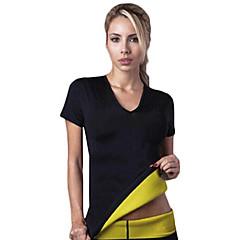 czopiarki gorące kobiety neoprenowy wyszczuplający Traning koszulki pocenie shapewear