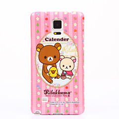 For Samsung Galaxy Note7 Mønster Etui Bagcover Etui Dyr Blødt TPU for Samsung Note 7 Note 5 Note 4 Note 3