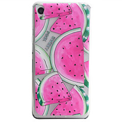 Watermelon Pattern Material TPU Phone Case For Sony Xperia E5 XA