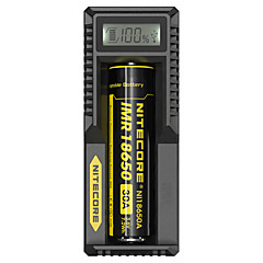 Nitecore UM10 Intellicharger Battery Charger Digi Lithium Charger with LCD Display Screen for 17500 18650 16340 14500
