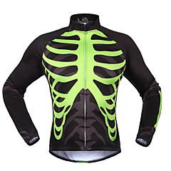 Sportivo Maglia da ciclismo Per donna Maniche lunghe Bicicletta Tenere al caldo / Antivento / Anti-polvere / ComodoSet di