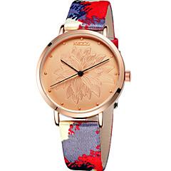 Mulheres Relógio de Moda / Relógio de Pulso Quartz / PU Banda Legal / Casual Cores Múltiplas marca