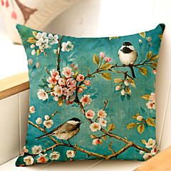1.0 kpl Muuta Body-tyyny / sohva tyyny,Kukka-aihe Traditionaalinen/klassinen