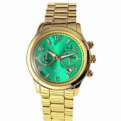Damers Frackur Modeklocka Armbandsklocka Quartz Kalender Legering Band Världskarta Mönster Guld Svart Röd Grön Blå Rosa
