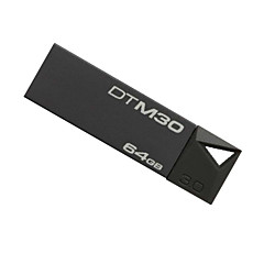 Kingston dtm30 pen drive usb 3.0 64gb mini metallo rigido bastone pendrive Flash