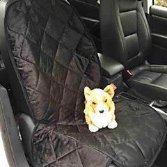 Gato Perro Cobertor de Asiento Para Coche Mascotas Colchonetas y Cojines Sólido Impermeable Portátil Plegable Negro Marrón