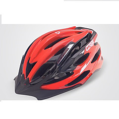 Bjerg / Vej / Sport-Dame / Herre-Cykling / Bjerg Cykling / Vej Cykling / Rekreativ Cykling-Hjelm(Gul / Hvid / Grøn / Rød / Mørkegrå /