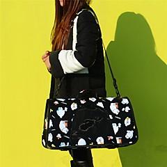 고양이 / 강아지 캐리어&여행용 배낭 / 슬링 백 애완동물 캐리어 휴대용 / 통기성 / 귀여운 블랙 / 블루 / 브라운 / 옐로우 / 로즈 옷감