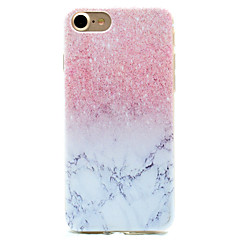 For iPhone 7 etui iPhone 6 etui iPhone 5 etui Mønster Etui Bagcover Etui Marmor Blødt TPU for AppleiPhone 7 Plus iPhone 7 iPhone 6s