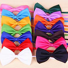 Kediler / Köpekler Düğüm/Papyon Bağı Kırmızı / Turuncu / Sarı / Yeşil / Mor / Siyah / Beyaz / Pembe / Gül / Açık Yeşil / CamgöbeğiKöpek
