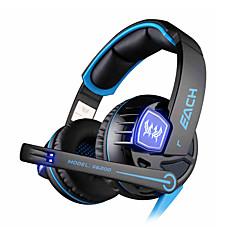 semleges termék G6200 Fejhallgatók (fejpánt)ForMédialejátszó/tablet / Mobiltelefon / SzámítógépWithMikrofonnal / DJ / Hangerő szabályozás