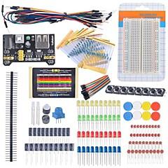 Starter Kit Początkujący opornik kabla makiet kondensator doprowadziły potencjometr do Arduino zestawu uczenia