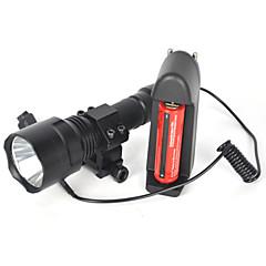 5000LM XML T6 LED Linterna Lamp Linterna 18650 Full set Of Battery Charger